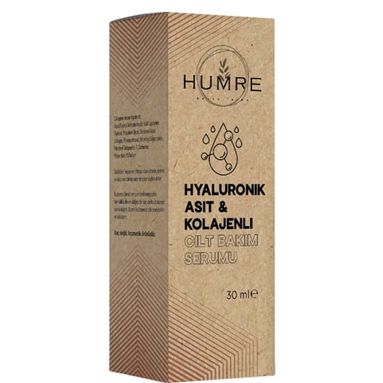 Hyaluronic Acid and Collagen - Skin Care Serum
